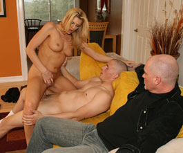 Darryl Hanah - Hubby Watches Wife